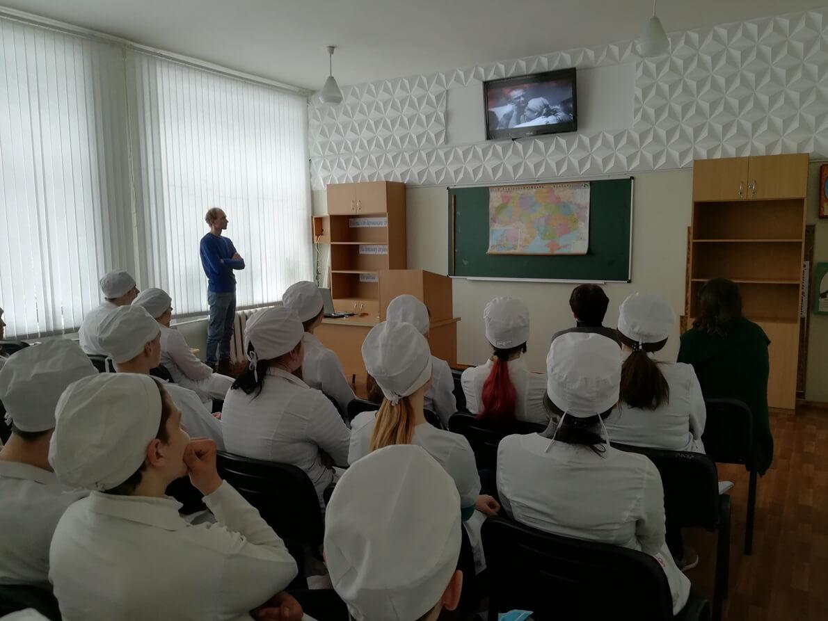 Студентам-медикам про медицину Глухівщини в роки війни